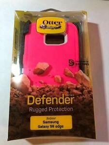 samsung galaxy s6 edge pink otterbox defender new sealed
