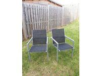 Garden Chairs x 8