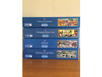 4 x GIBSONS 1000 PIECE JIGSAW PUZZLES