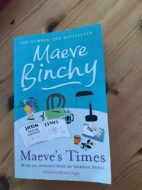 Maeve Binchy Paperback - Maeve's Times. Excellent condition. Great read by this fab author, can be