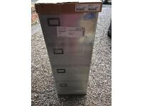 Brand new Grey 4 draw filing cabinet