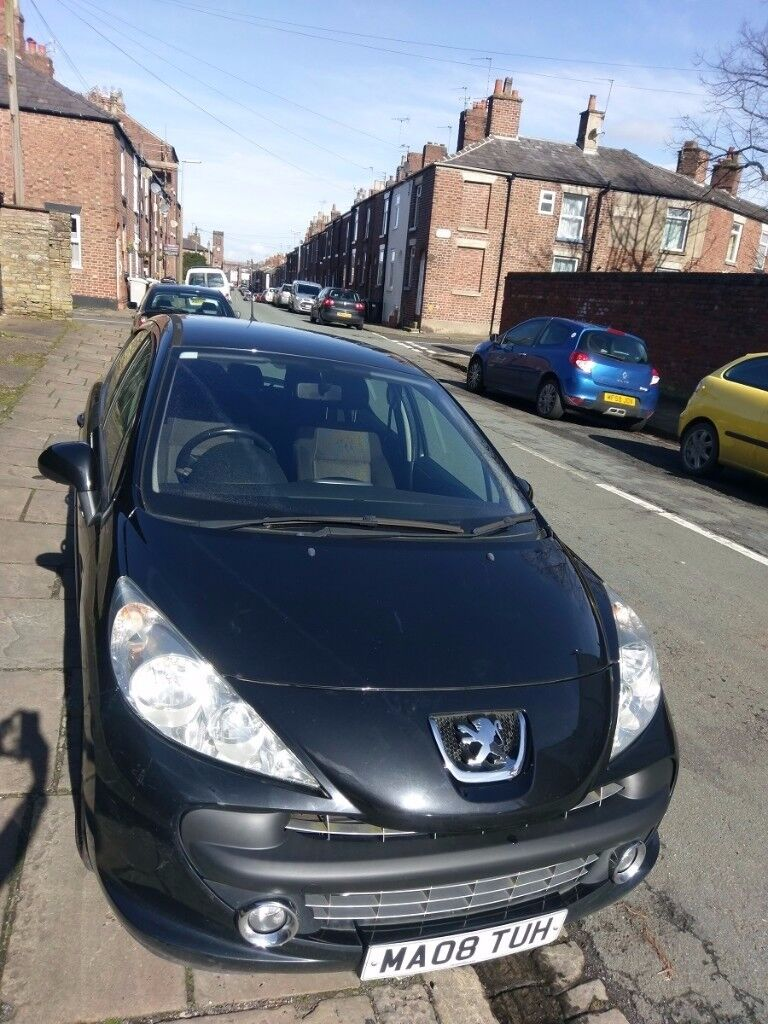 Peugeot 207 1.6 Sport HDI Black - in good condition