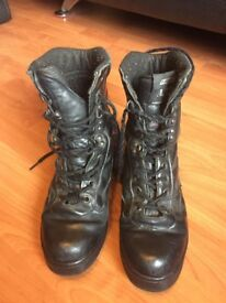 Highlander ATF All Leather Patrol Boot size 5