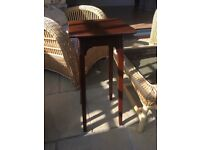 Attractive dark wooden table for sale