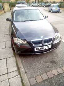 Reasonable bmw 3series for sale 06plate 68k on the clock