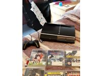 Ps3 with one joypad and 15 games