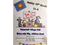 Table Top Sale - Yelvertoft Village Hall
