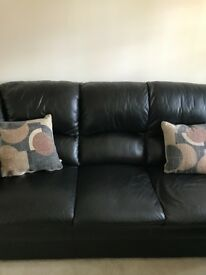 2 x 3 seat sofa