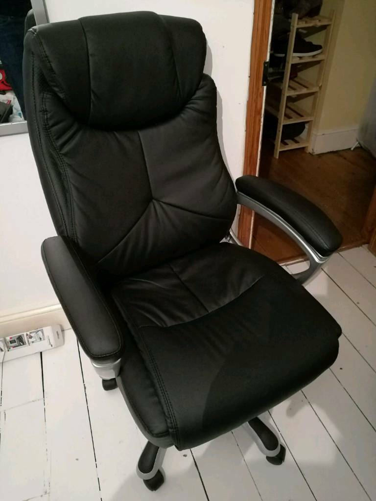 Tremendous Leather Office Chair Gaming Chair In Brighton East Sussex Machost Co Dining Chair Design Ideas Machostcouk