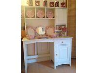 Beautiful Julien Bowen bedroom unit and lloyd loom style chair