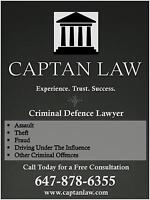 Toronto Criminal Defence Lawyer | Legal Aid Accepted