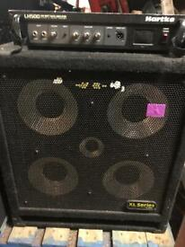 Hartke LH500 Bass Amp Head With 45XL Cabinet