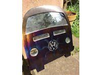 VW Campervan mirror. Steel. Handmade.