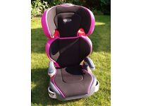 Graco Junior Maxi Group 2 & 3 Car Seat - Sport Pink