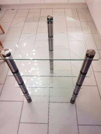 5 Shelf Glass Media Unit From John Lewis RRP £200