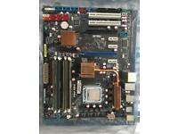 ASUS P5Q Pro Motherboard with quad core (9550) cpu