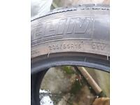 225 55 r17 Primacy Michelin, good tires