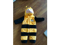 Baby Unisex Winter Bee Onesies Costume 12-17 months - Perfect for Halloweeen or just winter