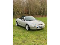 2001 MG MGF 1.8. Very low miles - 12 months MOT. Excellent condition
