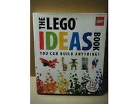 """THE LEGO IDEAS BOOK"" 200 pages of Lego building. Excellent condition."