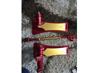 Malleus Limited Edition Iron Man double pedal