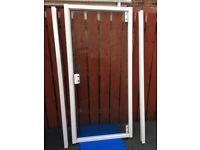 White 900mm Shower Door - great condition