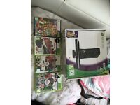 Xbox 360 Kinect 4gb with 4 games