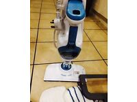 Pristine condition steam mop