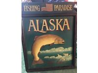 Fishing pub sign
