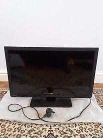 """Toshiba 24"""" LED TV/DVD Combi, black, hardly used"""