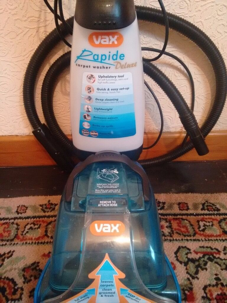 Vax Rapide Powermax 500w Carpet Washer Review Carpet