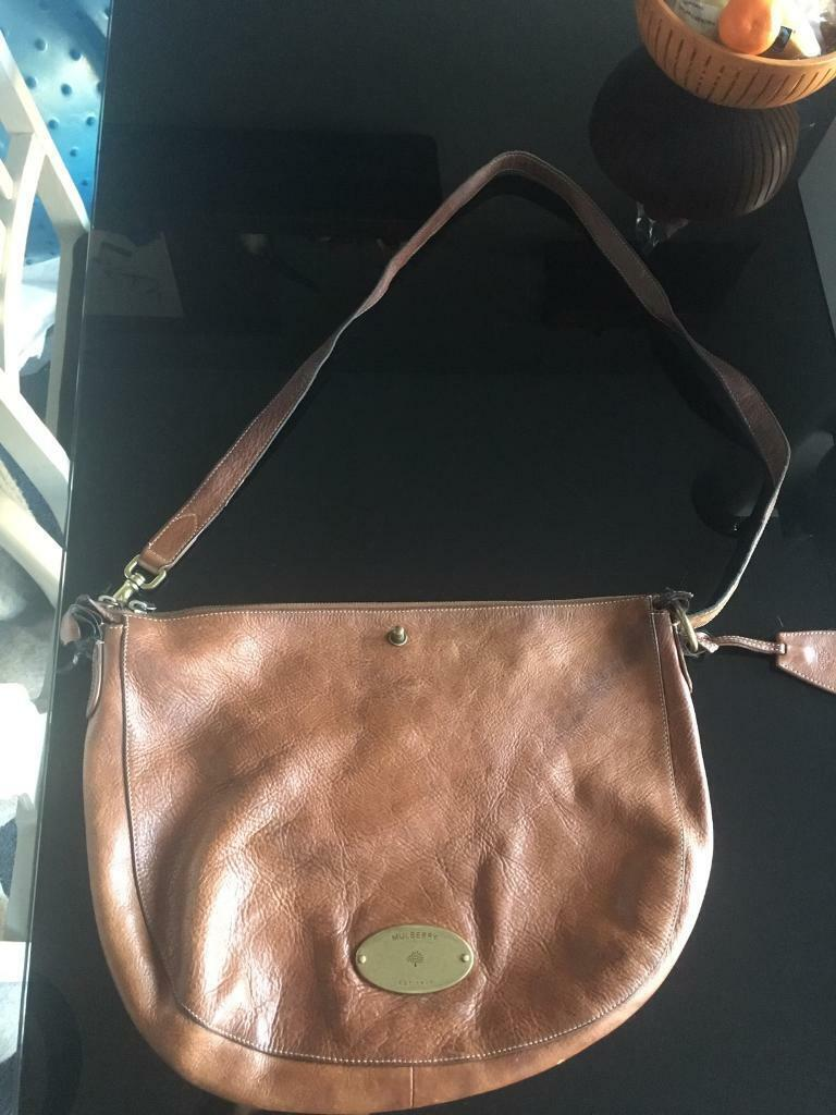 Mulberry Tan Leather shoulder Bag   in North Finchley, London ... 8e76ce8799