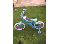 Girls bike 2/6 yrs