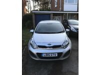 Kia Rio 1.25 VR7 3dr. 18 months service plan remaining as well as 4 years warranty