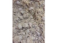 3-4 tonnes aggregate and sharp sand