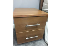 2 x Bedside Table Units + Chest of drawers BnQ
