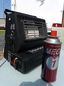 HI GEAR PORTABLE CAMPING GAS HEATER + CANISTER