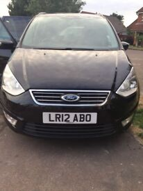12 REG FORD GALAXY ZETEC TDC AUTO CAT S FOR SALE!!