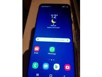 LIKE NEW Samsung Galaxy S9 plus 128gb blue LIKE NEW