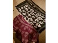 2 scarfs for sale