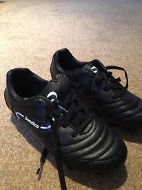 Boys clarks shoes 11g and football boots 12