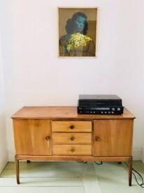 Original Walnut retro stylish sideboard - Gordon Russell furniture