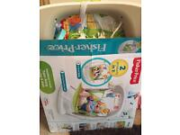 Fisher Price Rainforest Friends Baby Take along Swing and Seat