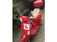 Piaggio Vespa LX 125 RED 2011 £1450 ono