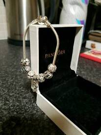 Pandora Braclet with 7 charms