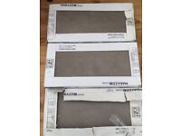 Grey Floor/Wall tiles for sale 3 sq m, as new