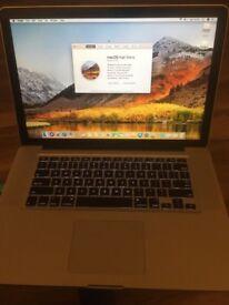 """Apple MacBook Pro 15"""" A1286 2.53ghz i5 CPU, 4gb Ram, 320gb, Geforce gpu"""