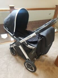 Oyster 2 pushchair with changing bag/footmuff