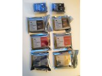 Brother printer ink cartridges - new, various colours