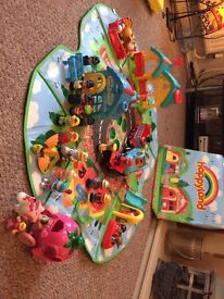 Happy land children's toy box and toys